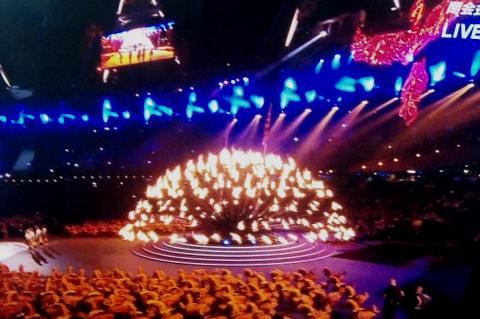 オリンピック聖火