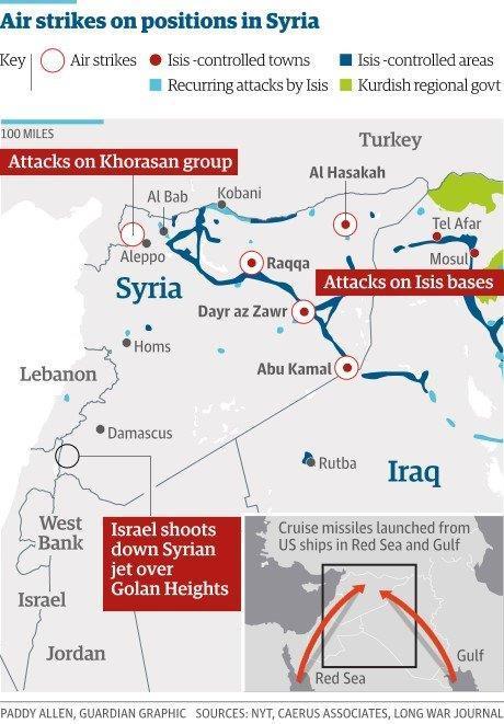 シリア爆撃(マップ)image