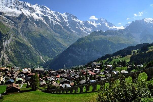 スイス(アルプスの村)image