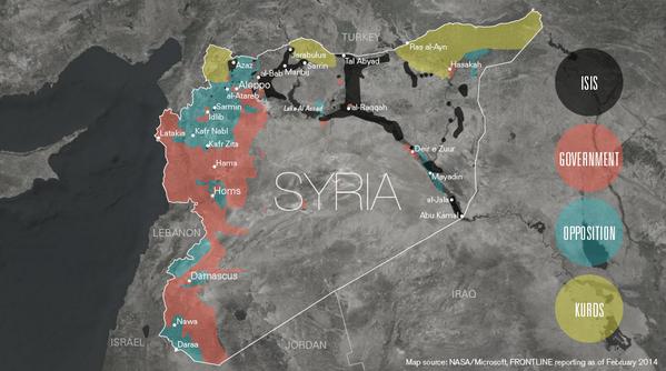 予言(シリアあたりの勢力図)image
