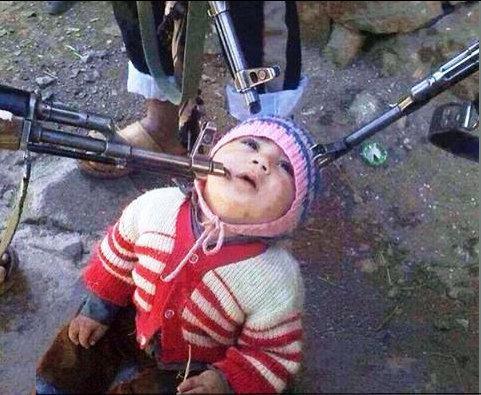 予言(資料イスラム国に屠られる前の幼子)image