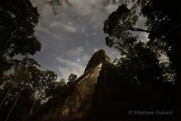 オリオン(マヤの遺跡の上で)image