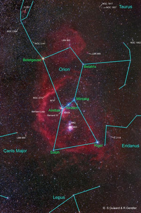 オリオン(星の名称)image