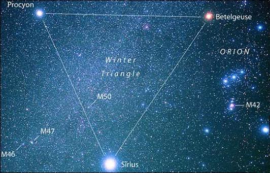 オリオン(冬の大三角形)image