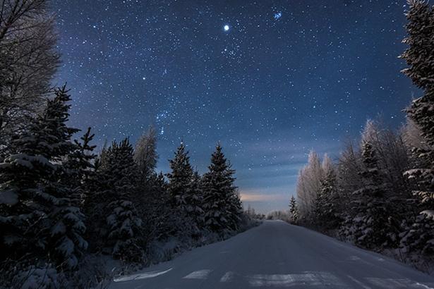 オリオン4(冬の道の)image