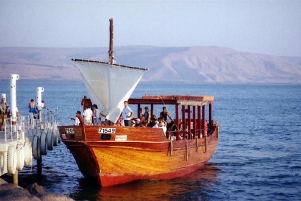 マグダラの(資料galilee boat)image