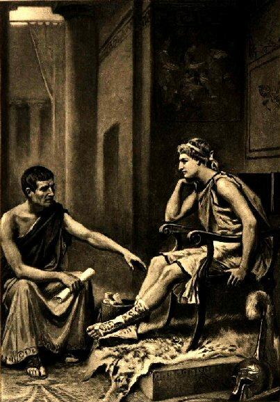 アレクサンドロス(賢者に学ぶ)image