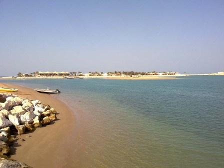 beautiful sea ras al khaimah in uae