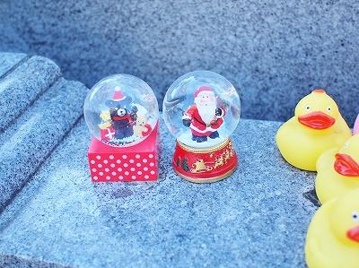 お地蔵様とクリスマスH262
