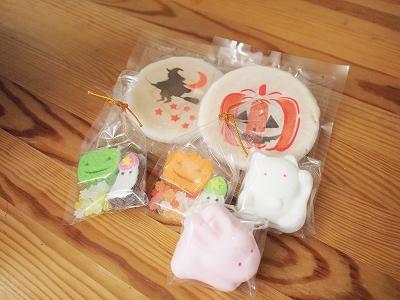 ハロウィンと和菓子