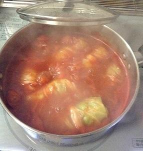 トマト味のロールキャベツ^^美味しそうだなー