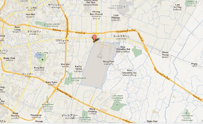 Koh-Lan-Ta地図