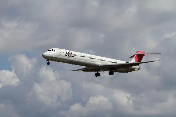 JAL MD90-30 JA004D RJOM 101010 004