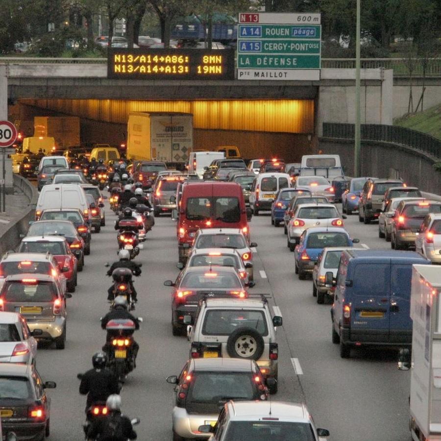 都会の渋滞