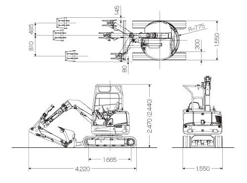 CATミニ油圧ショベル(FIGA(ファイガ)・030 SR)