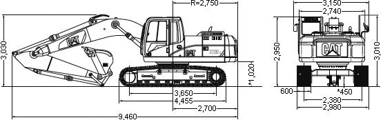 CAT油圧ショベル(320D・320D L)