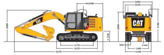 CAT油圧ショベル(316EL)