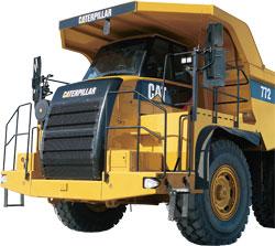 CATダンプトラック(772)