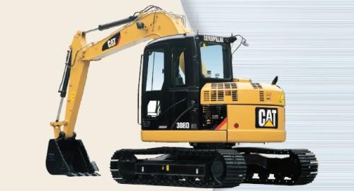 CAT油圧ショベル(後方超小旋回機・308DCR)