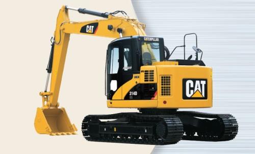 CAT油圧ショベル(後方超小旋回機・314D CR/313D CR)
