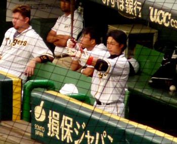 絵日記9・10広島ベンチ1