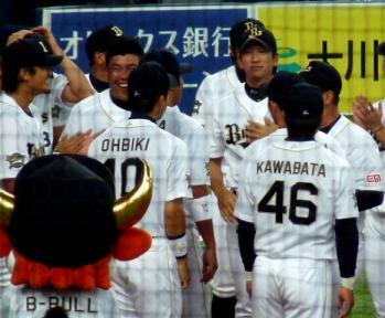 絵日記10・7オリ引退式6