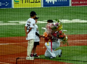 絵日記10・7オリ引退式4