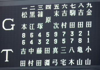 絵日記11・22OBスタメン
