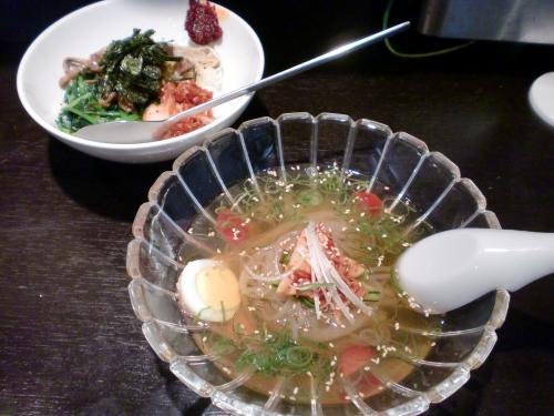 ミニピビンバ+半玉冷麺(冷麺処+伸)120523_convert_20120523184056