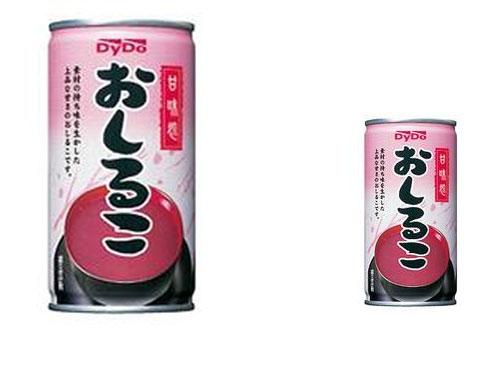 自販機用お汁粉500ml缶発売を企画会議で発表したら・・・