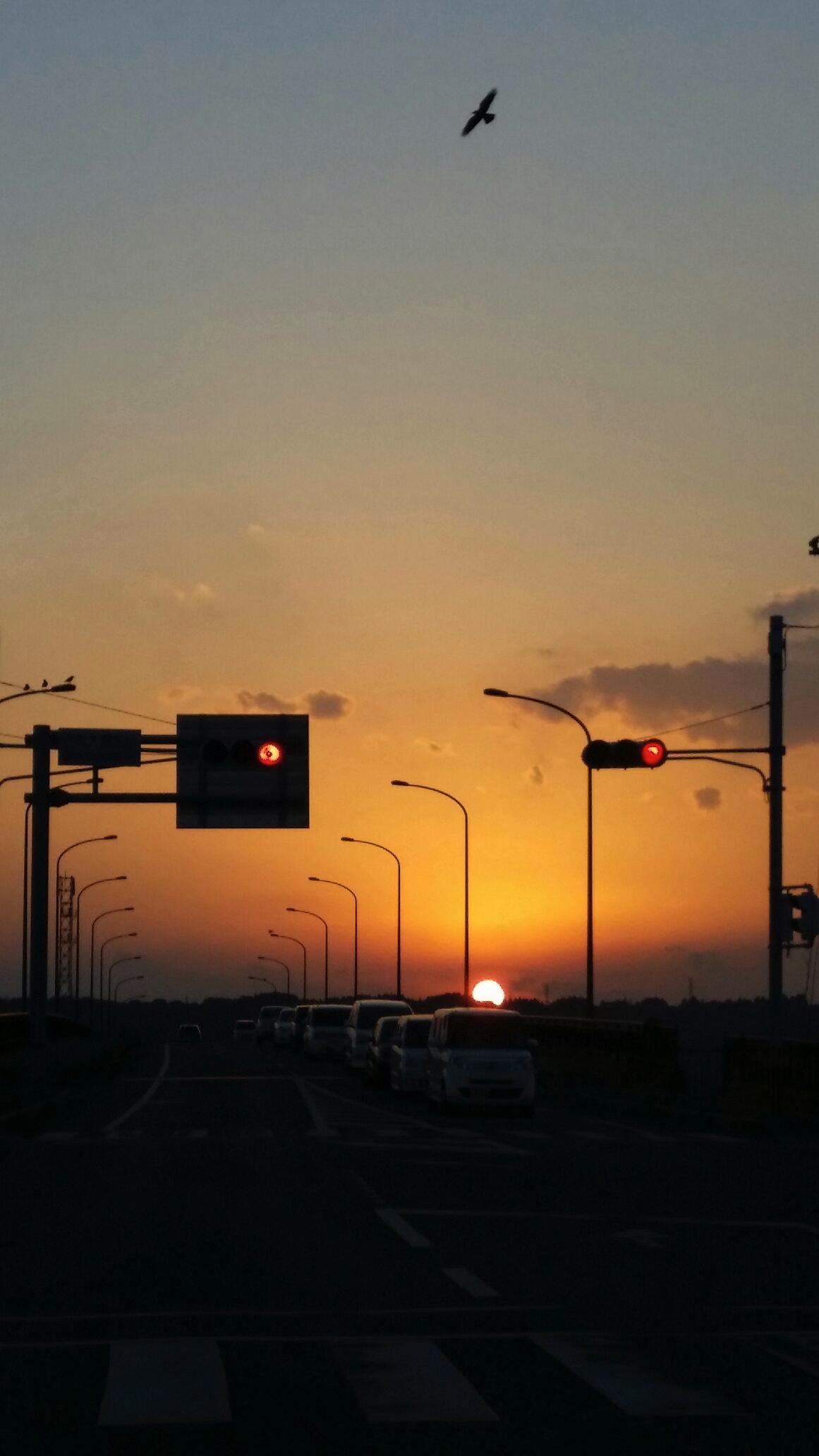 2013の夕日