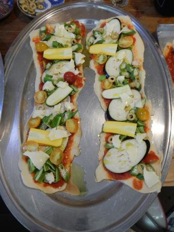 ベジタブルピザ