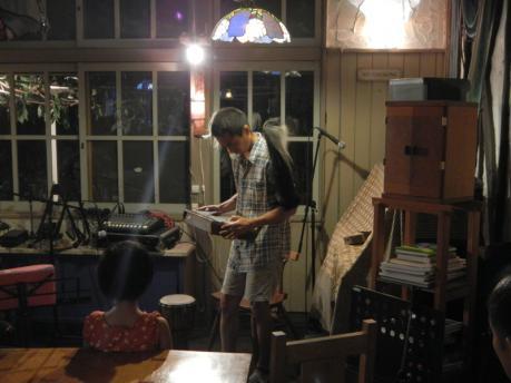 ゲストのカリンバ奏者