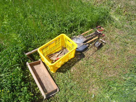 自然農の道具