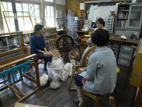 糸紡ぎワークショップ1:説明