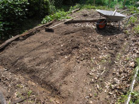染ガーデン2:整地する
