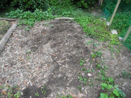 曼荼羅ガーデン1:設置前