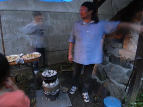 キャンドルナイト3:石窯