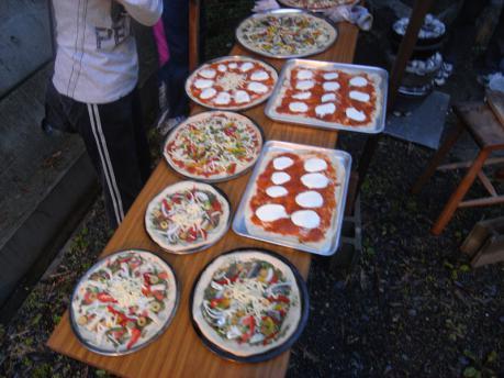 キャンドルナイト5:石窯ピザ