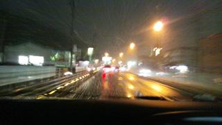 高山市内も降雪