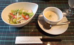 カンパーニュ スープサラダ