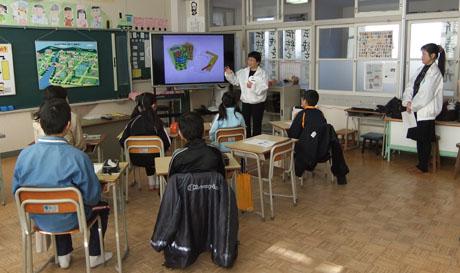 2 租税教室授業風景