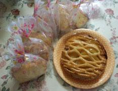パウンドケーキとアップルパイ