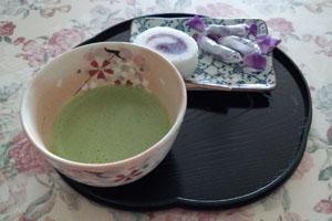 食後のティータイム お抹茶