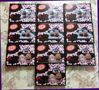 デコチョコ kitkat