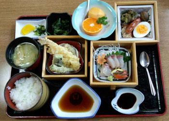 お昼ご飯 和食