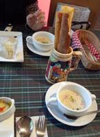 カンパーニュ バゲットスープ