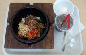 お昼ご飯 ビビンバ