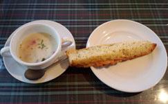 スープ&ガーリックトースト
