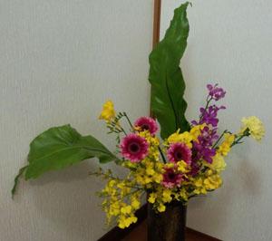 頂いたお花4